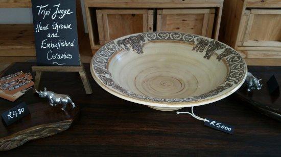 Hoedspruit, Sudáfrica: Trixi Junge Ceramics