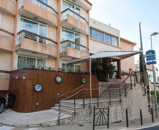 best western hotel la rade cassis france voir les