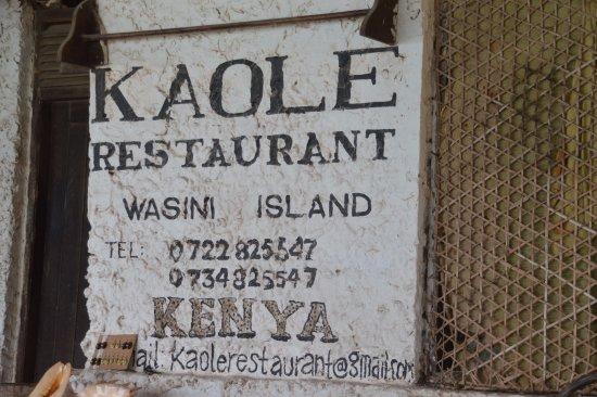 Kaole restaurant