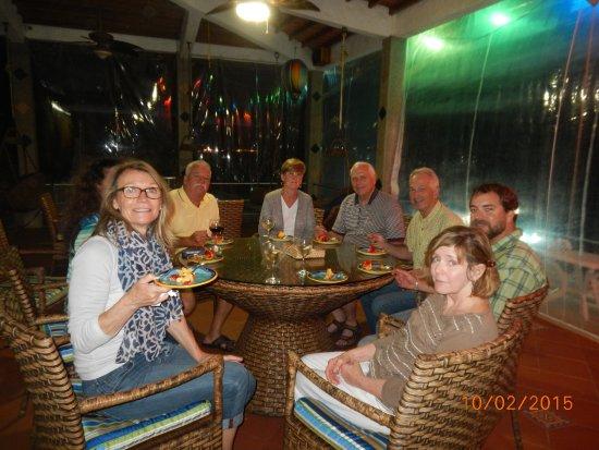 La Entrada, Ecuador: An Evening with our Friends