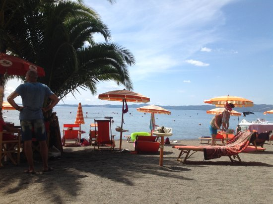 Болсена, Италия: La spiaggetta