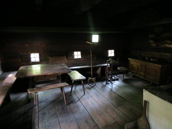 Styria, Austria: Штюбинг, музей, в старинном крестьянском доме
