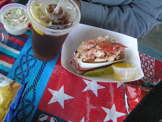 Eastport, ME: The lobster roll
