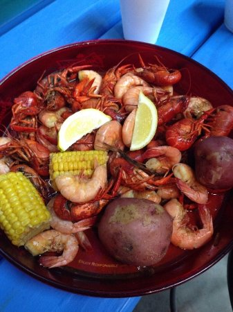 Burleson, Техас: Boiled Crawfish and Shrimp