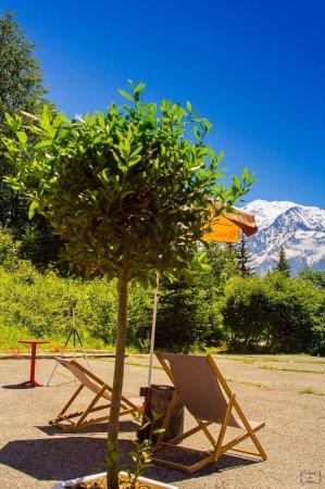 Passy, France: on est bien face au Mont Blanc !