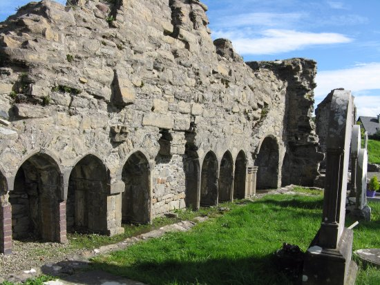 Donegal Town, Irlanda: Abbey Ruins
