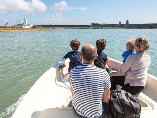New Forest National Park Hampshire, UK: Enjoy a ride on the Solent with a Boat Trip 