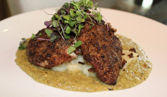 Orange, VA: Pecan Crusted Chicken Breast