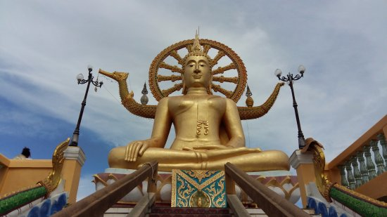 Bophut, Tailandia: eccolo! il Big Buddha