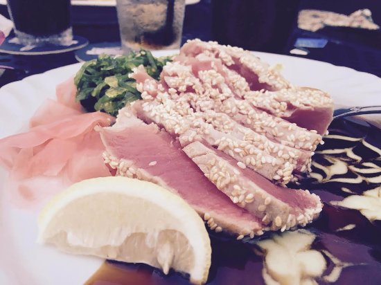 Rams Head Roadhouse: tuna and seaweed