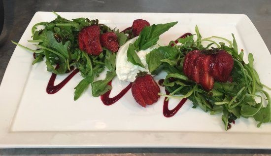 Orange, VA: Strawberry & Basil Salad