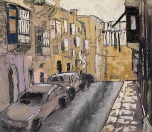 Artitude Gallery: En plein air paintings by Henry Falzon (Maltese)