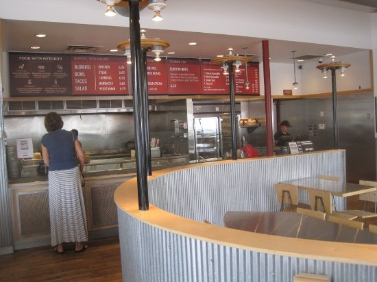Chipotle interior picture of mexican grill