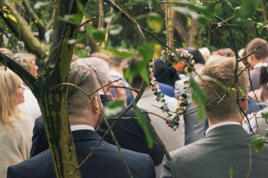 Thompson, UK: Forest wedding