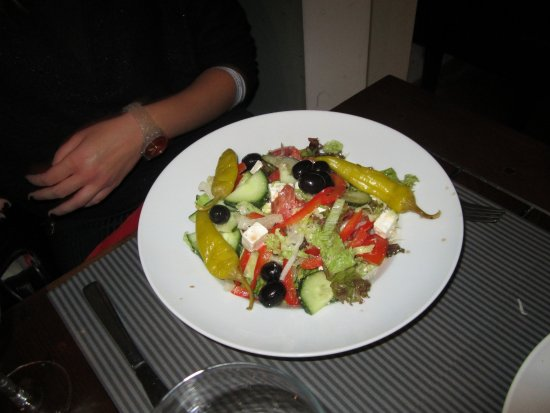 Anderlecht, Bélgica: GREEK SALAD