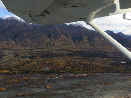 Willow, Alaska: Flying over Mat-Su Valley