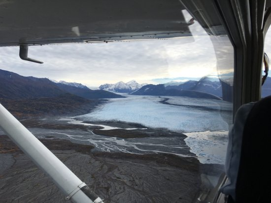 Willow, Alaska: About 40 minutes into the flight