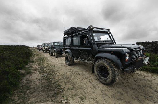 Hope Valley, UK: Bring along your own 4x4 for a guided trek
