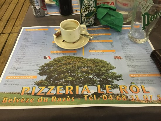 Belveze-du-Razes, France: Great pizza