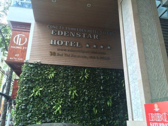 EdenStar Saigon Hotel: 간판