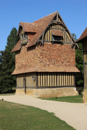 Crevecoeur-en-Auge, Γαλλία: Dovecot