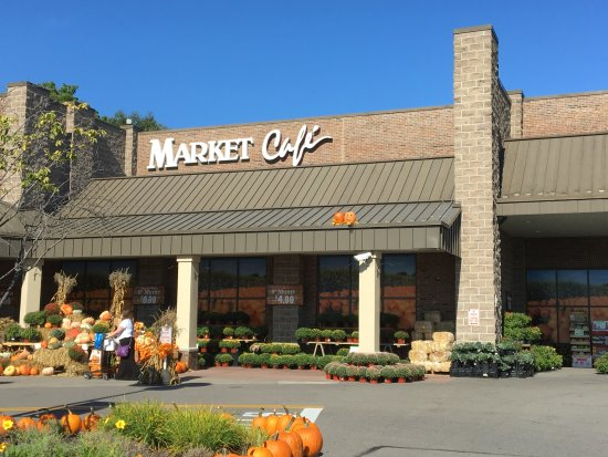 Cafe at Wegmans: Wegman's Market Cafe - from outside