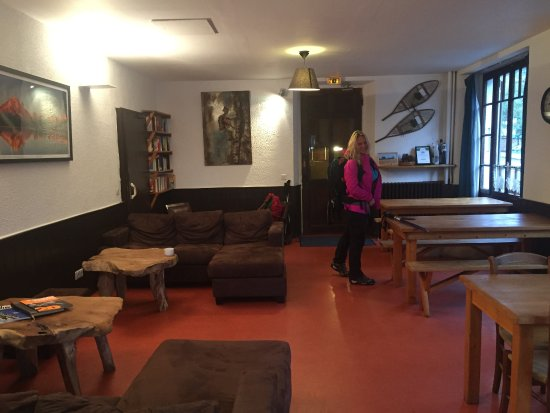 Argentiere, Francia: Really comfortable Lounge/ dining area