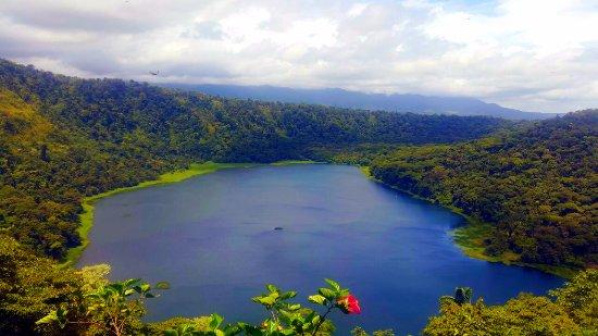 Tirimbina, Kostaryka: la laguna