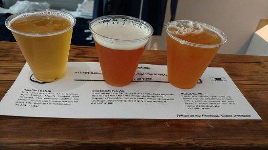 South Dennis, Μασαχουσέτη: September 2016 tasting.