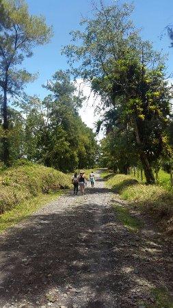 Tirimbina, Kostaryka: el camino