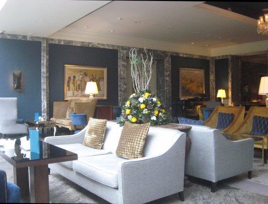 InterContinental Dublin: Pleasant lounge