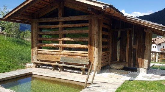 Tiers, Italia: Sauna alpin