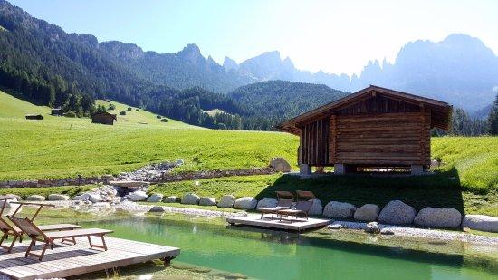 Tiers, Italia: bassin biotope