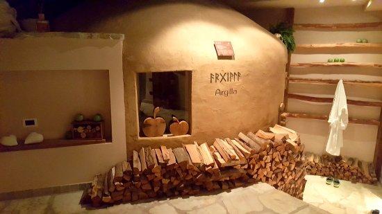Tiers, Itália: Sauna argile