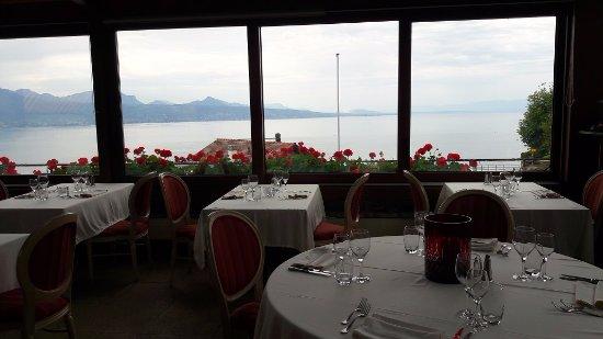 Grandvaux, Suiza: Dining Area