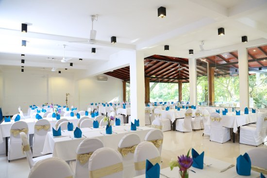 Grand Kalundawa Waterfront Resort : Our function centre can host around 150 guests.