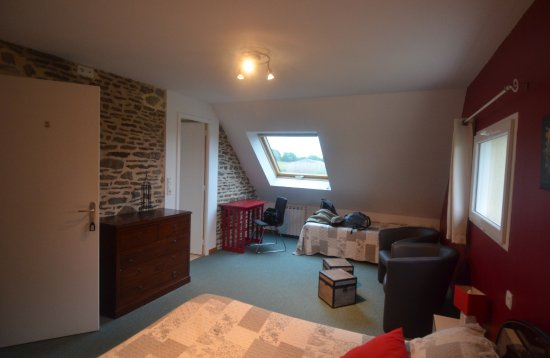 Huisnes sur Mer, Frankrike: camera da letto