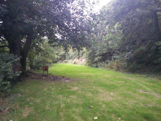 Corwen, UK: The campsite