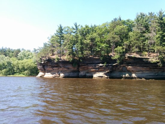 Dells Army Ducks: Scenery along the tour