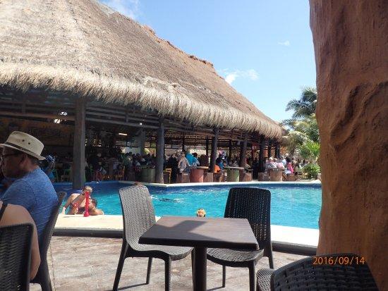 pool area at costa maya picture of costa maya port mahahual rh tripadvisor co za