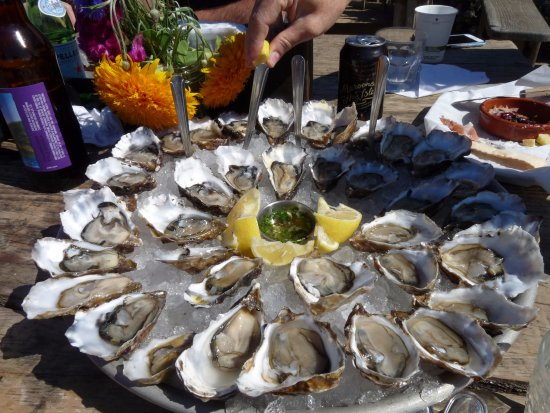 Marshall, Califórnia: Oysters are the specialty, of course