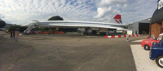 Weybridge, UK: G-BBDG The first British Production Concorde