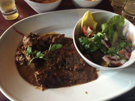Melsbroek, เบลเยียม: Het eten bij thermae boetfoort