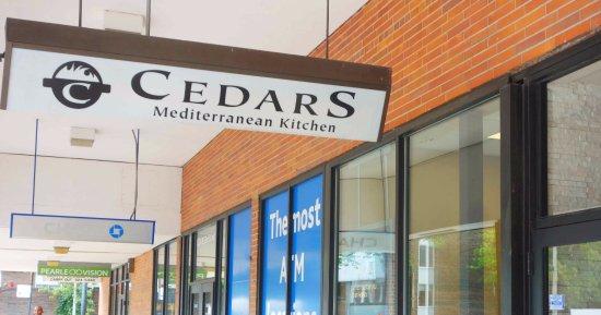 Cedars Mediterranean Kitchen: Entreen