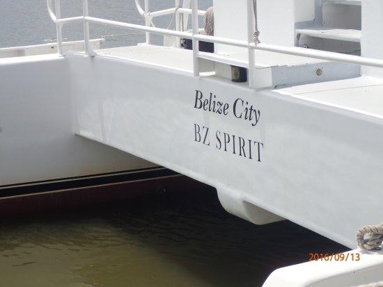 Belize Tourism Village : Belize Tender Boat....