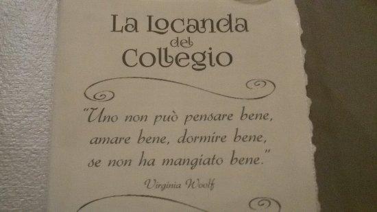 Fabriano, Italien: La Locanda del Collegio
