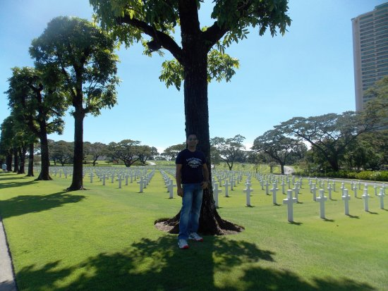 Manila American Cemetery and Memorial: inside