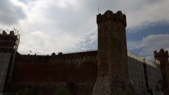 panoramica della Fortezza di Montalcino