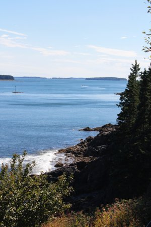 Owls Head, ME : Views from the lighthouse hike