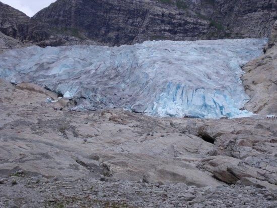 Sogndal Municipality, Noorwegen: Llegando al glaciar